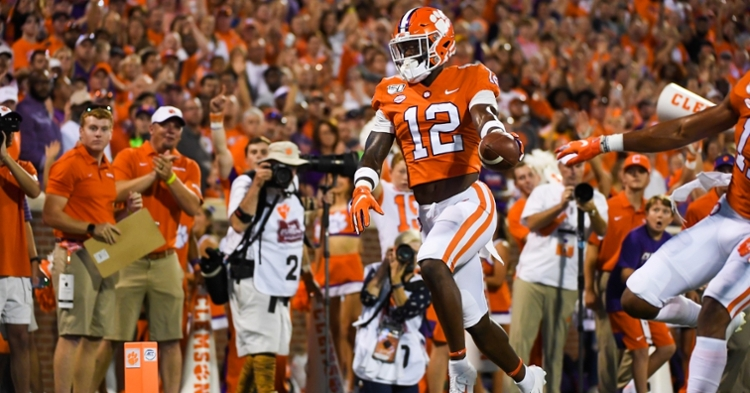 K'Von Wallace (12) says the Tigers are the best team in the country.