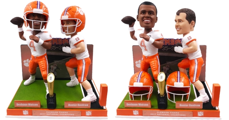 Limited to only 2017 of these cool bobbleheads (Pic of detachable helmet and without)