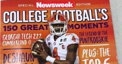 LOOK: Deshaun Watson on cover of Newsweek Special Edition