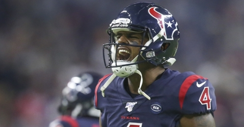 Watson won the AFC Offensive Player of the Week Award for the 3rd time in 2019 (Thomas B. Shea - USA Today Sports)