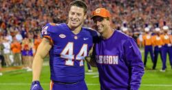 Clemson TE will forgo final year of eligibility