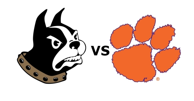Clemson takes on Wofford at 4 pm Saturday