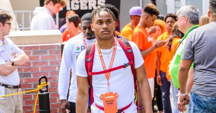 Malcolm Greene flipped from LSU to Clemson.