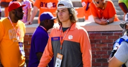 "Top 2022 QB has a Clemson visit that is ""one to remember"""