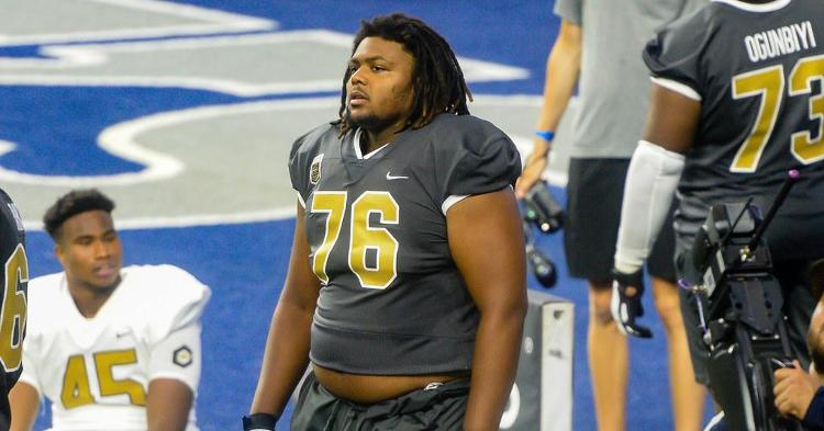 Mayes was one of the standout offensive linemen at The Opening
