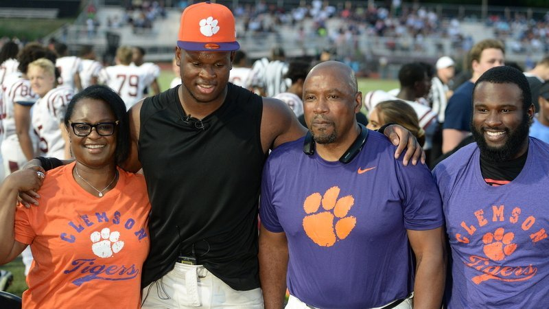 Murphy announced for Clemson at his high school in the spring.