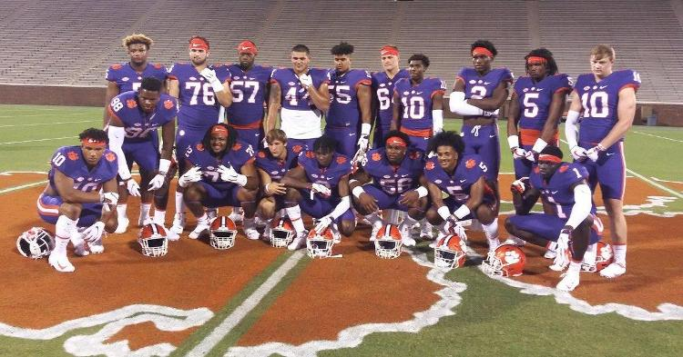 Clemson's commits to that point and some top targets attended last year's cookout event.