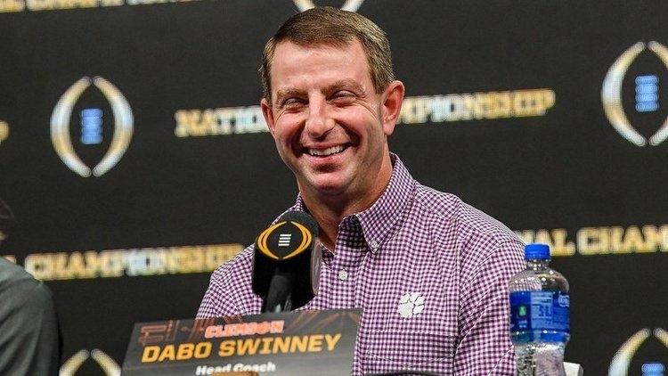 Swinney has plenty to smile about these days