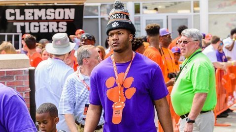 Watson checks out Death Valley before Clemson's spring game