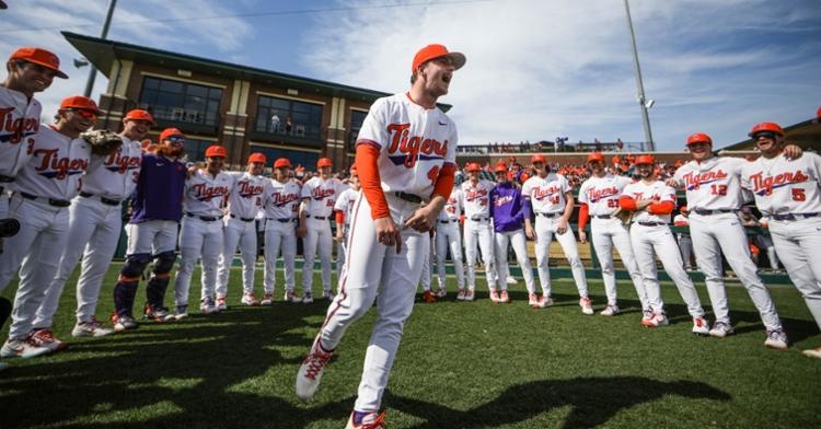 Clemson baseball has won five of the last six series against South Carolina (Photo by Melina Alberti)