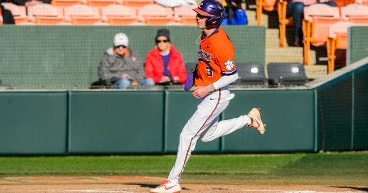 Clemson jumped on top in the eighth. (Photo by David Grooms)