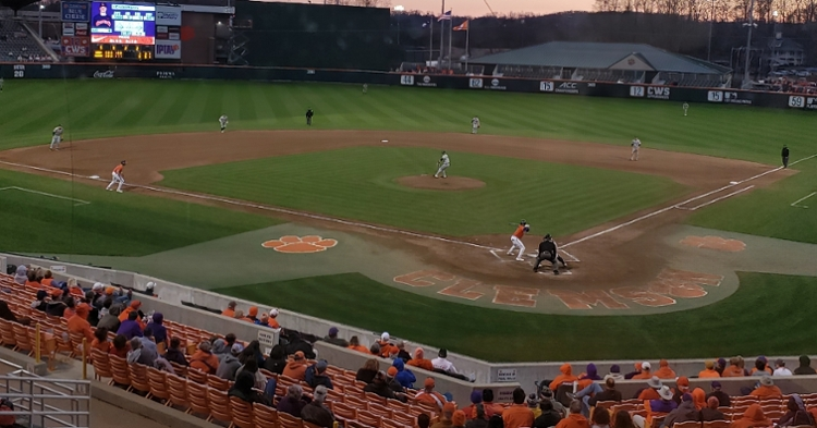 Clemson defeated Liberty 5-3 in the season opener