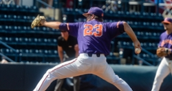 Clemson pitcher signs free agent contract