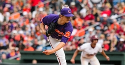 Weatherly strikes out 14 in Clemson's win over Seawolves