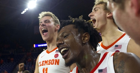 Clemson was excited after the win (Joshua S. Kelly - USA Today Sports)