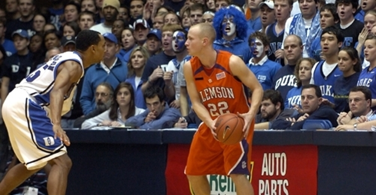 Oglesby was a terrific 3-point shooter at Clemson.