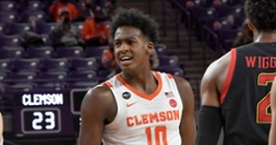 Clemson takes strong start to 'Holiday Hoopsgiving' game against Alabama