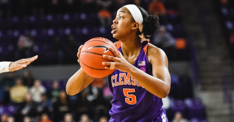 Robinson earned national freshman of the week at one point (Picture per Clemson athletics).