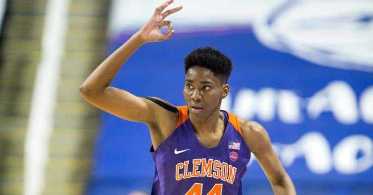 Thornton led the way for the Tigers. (Clemson SID photo)