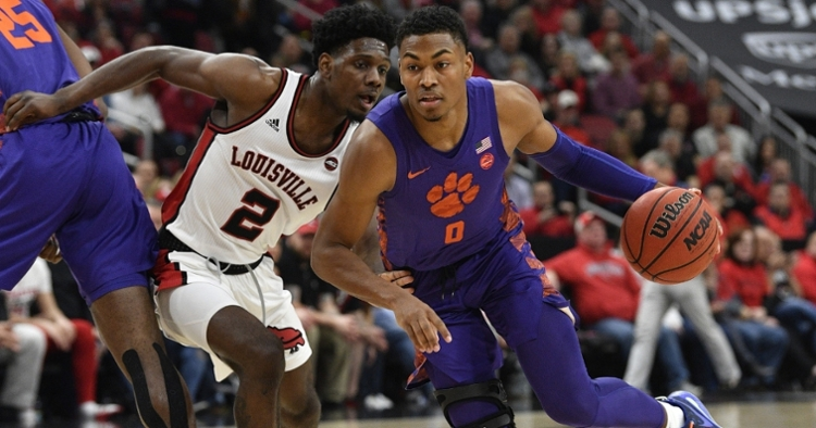 Clemson will look to rebound at home versus Syracuse on Tuesday. (Photo: Jamie Rhodes / USATODAY)