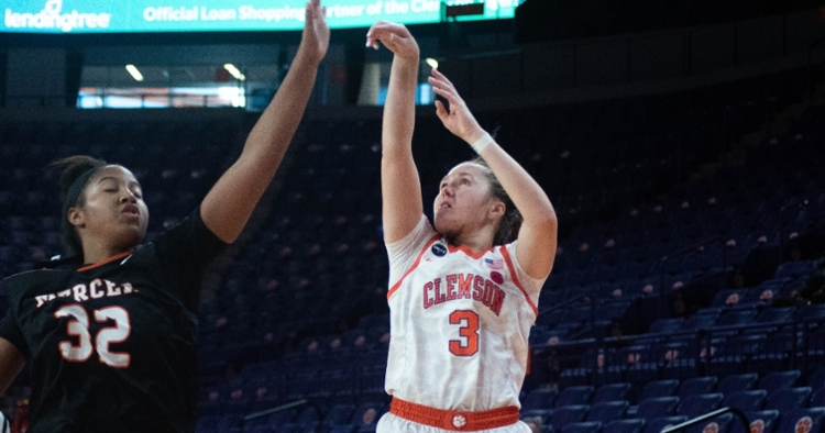 Kendall Spray is shooting 54% from three. (Courtesy ACC)
