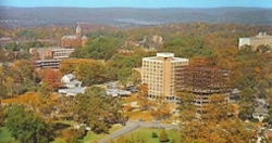 LOOK: Clemson Historic photo #58 'Aerial view in 1940s, 1960s'
