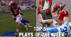 WATCH: Ajou Ajou's first career TD ranked in Top 5 ACC Plays of the Week