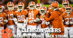 WATCH: Clemson Football: Ready to bounce back strong