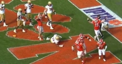 WATCH: Bryan Bresee forces safety to preserve win over BC