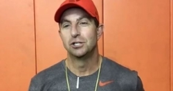WATCH: Dabo Swinney after Wednesday's practice