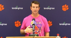 WATCH: Swinney compares Clemson QB greats, previews Syracuse game