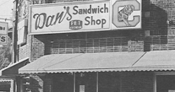 LOOK: Clemson Historic photo #65 'Dan's Sandwich Shop'