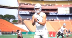 WATCH: Clemson QB DJ Uiagalelei mic'd up at Polynesian Bowl