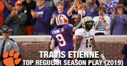 WATCH: Travis Etienne's Top 4 regular season plays of 2019