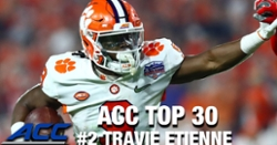 WATCH: Travis Etienne ranked No. 1 RB in ACC
