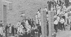 LOOK: Clemson Historic photo #7 'The CU sign on the Hill in 1964'