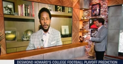 WATCH: ESPN's Desmond Howard makes updated Playoff picks