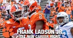 WATCH: Frank Ladson sets career highs vs. The Citadel