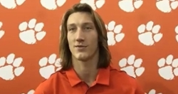 WATCH: Trevor Lawrence, Tigers talk season opener and more