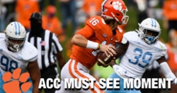 WATCH: Clemson scores 7 touchdowns on first 6 possessions vs. The Citadel