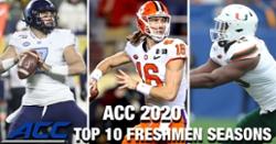 WATCH: Top 10 ACC freshmen football seasons since 2000