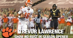 WATCH: Trevor Lawrence highlights vs. Wake Forest