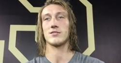 Trevor Lawrence talks about offense having 50 plays at halftime