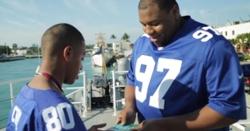 WATCH: Dexter Lawrence surprises teen cancer survivor with Super Bowl tickets