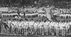 LOOK: Clemson Historic photo #64 'Mother's Day on Bowman Field in 1950s'