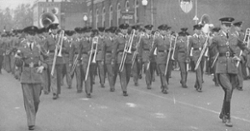 LOOK: Clemson Historic photo #102 'Tiger Band in 1940s'