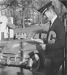 LOOK: Clemson Historic photo #106 'Cadet reading a sugar report'