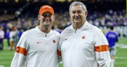 Departing Clemson coach writes message to Clemson family