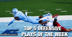 WATCH: Booth's TD ranked in Top 5 ACC Defensive Plays of Week