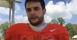 WATCH: Clemson's Thursday post-practice interviews